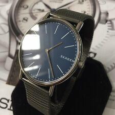 Mens Skagen Designer Dress Watch Titanium Mesh Slim SIGNATUR SKW6420 Quartz