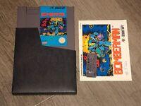 Bomberman w/Manual & Sleeve Nintendo Nes Authentic