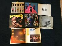 8 lp lot punk junk SCRATCHED or CRACKED WARPED beater copies xray spex siouxsie!