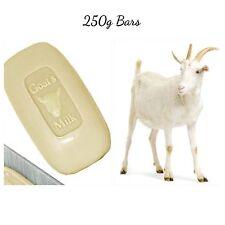 Large Soap Goats Milk Creamy All Natural 3 X 250g Bars Bulk - Goat Milk Soaps -