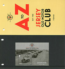 Jersey 2016 MNH Jersey Old Motor Club 1v M/S Presentation Pack Cars Stamps