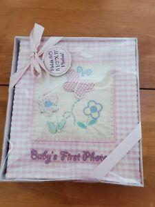 New Baby Girl Photo Album .pink White