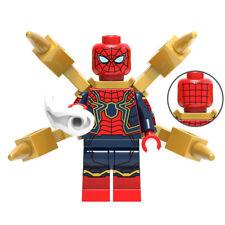 Super Heroes Marvel Building Block Spider Man Iron Man Thor Groot Rocket Racoon