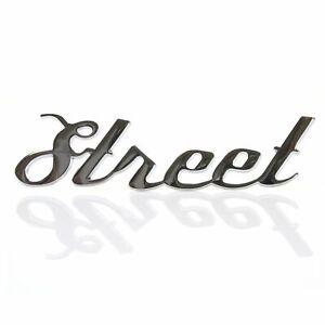 Hot Rod Street Muscle Car Custom Truck Street Emblem Script Stick On Body Art