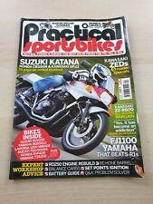 Practical Sportsbikes Magazine Issue 4 Winter 2010 Suzuki Katana RGV250 TZR250