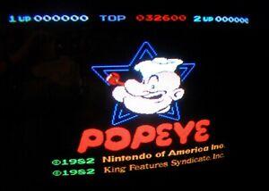 POPEYE - Nintendo Arcade - GENUINE LOGIC PCB SET - WORKING 100% - (2) Board Set