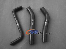 FOR Honda TRX450R TRX450 2006 2007 2008 2009 silicone radiator hose BLACK