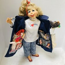 "The Doll Collector Doll Designer Guild Collection 17"" Pat Kolesar Flasher Coat"