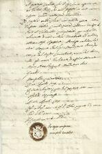 Bologna Regnante Napoleone Bonaparte Sentenza del Giudice di Pace 1809