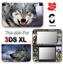 wolf Cool SKIN VINYL STICKER DECAL COVER for Nintendo 3DS XL