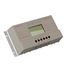 Solar Laderegler Controller Regulator  30A 12V/24V LCD Solarregler Solarpanel