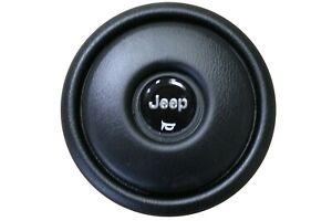 OEM Factory Jeep 88-95 Wrangler YJ Steering Wheel Horn Cover Center Cap 5BL20KX9