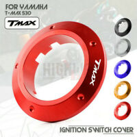 Ignition Switch Key Cover Ring Protector Guard Case for Yamaha TMAX 530 13-2015