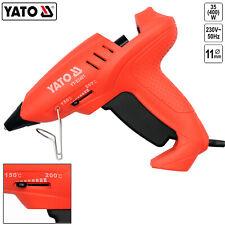 Heissklebepistole Heißklebegerät 400W 150-200°C + 2 Klebesticks 11mm Heißkleber