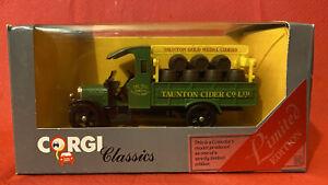Corgi Classics Diecast - Thorneycroft Truck 1929 Ltd Ed. Taunton Cider