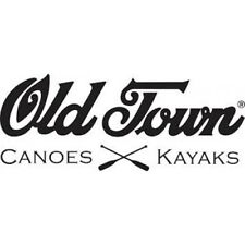"2 Vinyl Stickers Old Town Canoes 6"" length MANY COLOURS INCLUDING METALLICS"