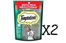 WHISKAS Temptations Cat Treats - DENTABITES  130g X 2 = 260g Packages Canadian