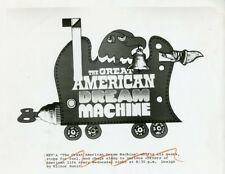 THE GREAT AMERICAN DREAM MACHINE LOGO ORIGINAL 1980 TV PHOTO BILLBOARD