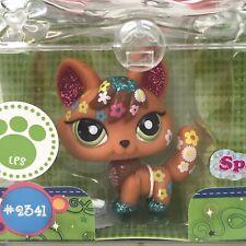 Littlest Pet Shop Shimmer n Shine Pets #2341 Fox Figure Sparkle Retired Hasbro
