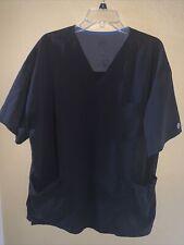 Barco Kd110 Scrub Top Black Color With Pockets Women Size Xl