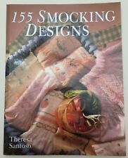 155 Smocking Designs by Theresa Santosa - paperback good condition used copy