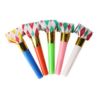 10X NEW PARTY BLOWERS .BLOWOUTS BIRTHDAY LOOT BAG FILLER TOY B4A9 NOISE D I2O5