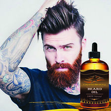 Beard Oil for Men - Grooms Beard, Mustache, boosts hair growth. Top Quality 4Oz