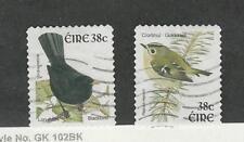 Ireland, Postage Stamp, #1372-1373 Used, 2002 Birds