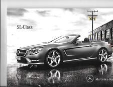 MERCEDES BENZ SL CLASS- SL350, SL500, SL63 AMG, SL65 AMG CAR BROCHURE MARCH 2012
