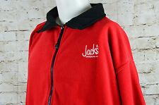 Jack's Restaurant Zip Fleece Red Size 2XL