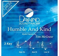 Tim McGraw - Humble And Kind - Accompaniment CD New