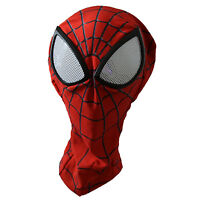 Man Spider-man Mask with Lenses Adult Halloween Party Accessary
