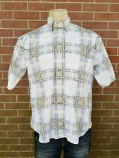 Gant Salty Dog Men's Imperial Poplin Button Down Shirt Golf Clubs Size M