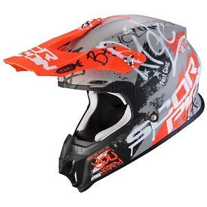 Scorpion VX-16 Air Oratio Crosshelm off Road Motocross Sport Summer MX