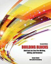 Building Blocks: Skill Sets for Live-Fire Writi. Taylor, M.#