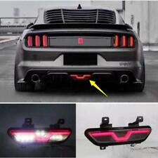 Fit For Ford Mustang 2015-2018 Rear Bumper decoration lamp led brake light