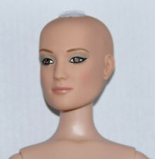 "Resort Stripe Liu Liu Nude Bald 16"" doll Tonner 2013 Brown eyes No Box No Stand"