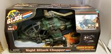 GI JOE VS COBRA NIGHT ATTACK CHOPPER 2002