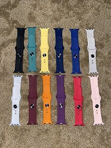 Watch Sport Bands Compatible with Apple. Timtu Multi Color Pack Of 12 - 38/40mm