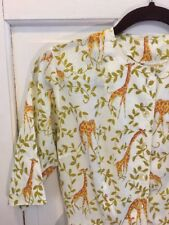 Amazing Vintage Giraffe Sachs Fifth Avenue Day Dress Small Flawless Modcloth