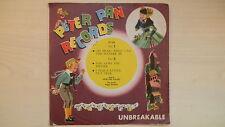 RARE Vintage Peter Pan RED Records NURSERY RHYMES 78rpm 1948