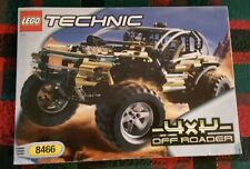 LEGO TECHNIC 8466 4 X 4 OFF ROAD VEHICLE, COMPLETE WITH INSTRUCTIONS