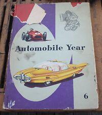 Book 1958 1959 Automobile Year 6 Edita Lausanne S.A. Switzerland English