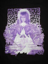Rock Me Label - David Bowie Labyrinth (Sm) T-Shirt Ziggy Stardust