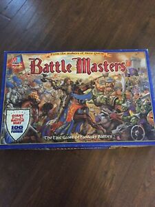 BATTLE MASTERS VINTAGE MILTON BRADLEY 1992 BATTLE MASTERS GAME