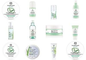 Body Shop ~ ALOE ~ Soothe Signs Of Irritation ~ Allergy-prone, Itchy Or Red Skin