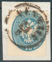 Österreich,Lombadei&Venetien Kl. Briefstück Mi.-Nr.17o(Michel EURO 70,00) pracht