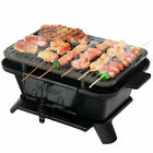 Heavy Duty Cast Iron Charcoal Grill Tabletop BBQ Grill Stove for Camping Picnic photo