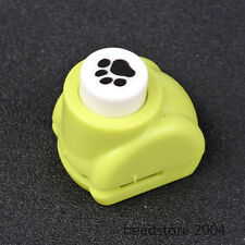 1pcs Dog Paw Prints Plastic Craft Punch Set Paper Shapers Scrapbook Paper Crafts
