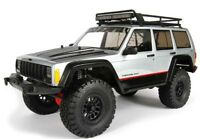 """NEW Axial SCX10 II SCX10 2000 Jeep Cherokee Body .040"""" (Clear) Complete AX31337"""